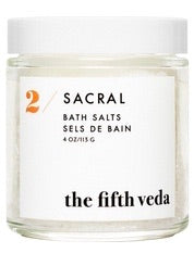THE FIFTH VEDA Bath Salts in 2 Sacral