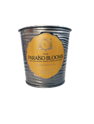 AQUIESSE Fine Tin Candle in Paraiso Blooms No. 042