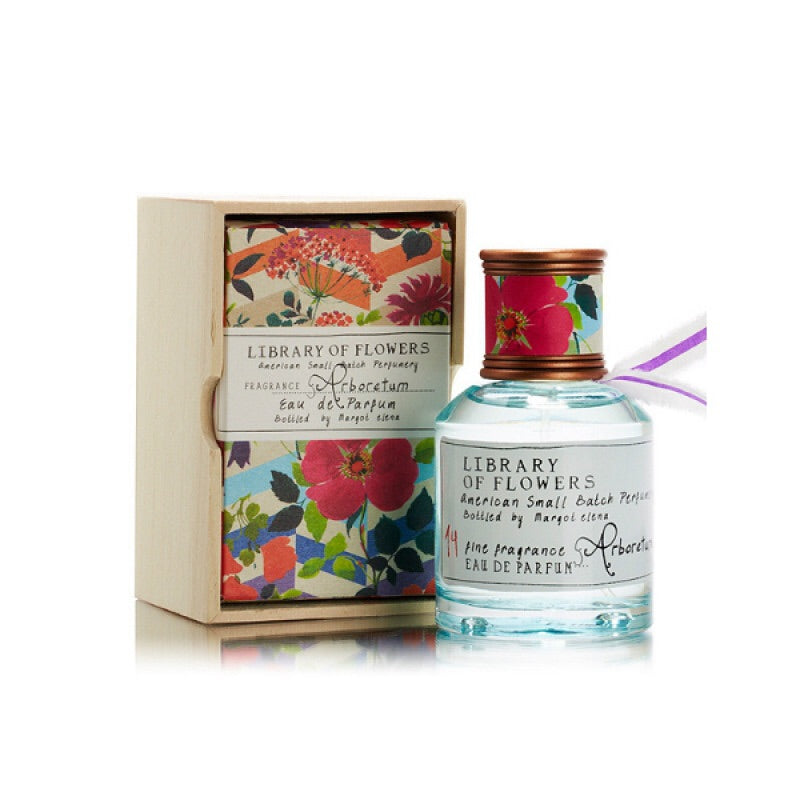 LIBRARY OF FLOWERS Eau de Parfum in Arboretum