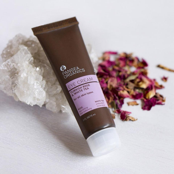 PANGEA ORGANICS Eye Cream with Turkish Rose and White Tea