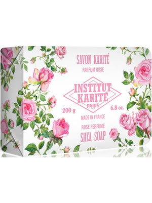 INSTITUT KARITE PARIS Shea Soap in Rose Parfum