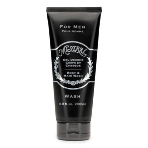 MISTRAL For Men Body & Hair Wash in Cedarwood Marine