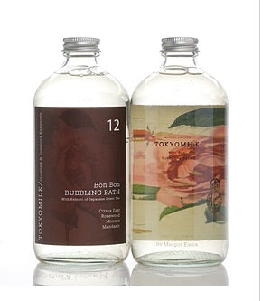 TOKYOMILK Bubble Bath in Gin & Rosewater No. 12