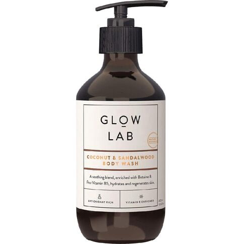 GLOW LAB Body Wash in Coconut & Sandalwood