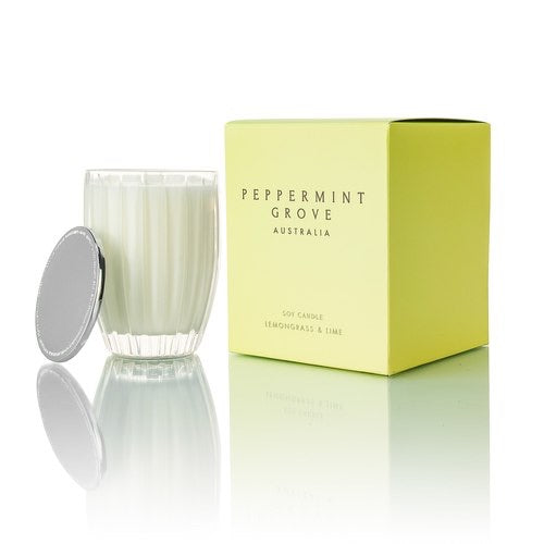 PEPPERMINT GROVE Classic Candle in Lemongrass & Lime