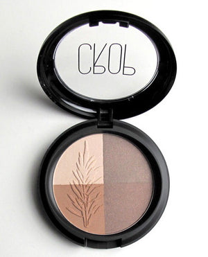 CROP Natural Mineral Eyeshadow Quad in Nude