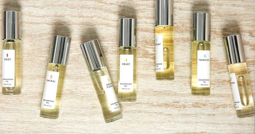 THE FIFTH VEDA Enlightened Oil in 3 Solar Plexus