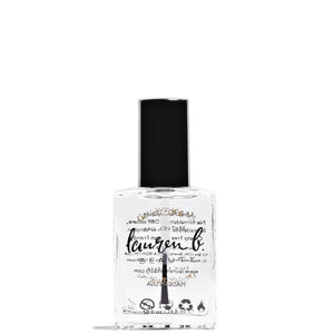 LAUREN B Quick Dry Top Coat Nail Polish