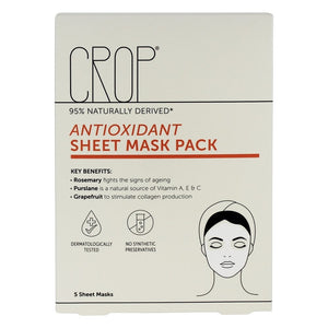 CROP Antioxidant Sheet Masks (5)