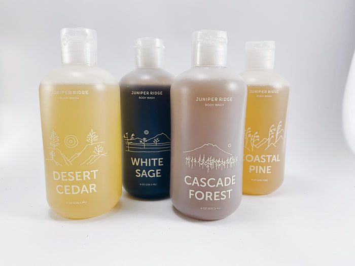 JUNIPER RIDGE Body Wash in Cascade Forest