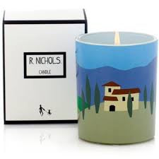 R NICHOLS Candle in Tuscany