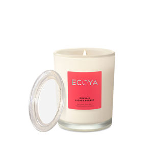 ECOYA Metro Candle in Guava & Lychee Sorbet