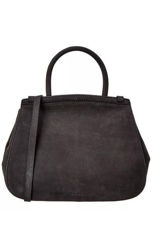 STEVEN ALAN Kate Convertible Suede Bag in Black