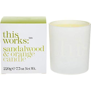 THIS WORKS Candle in Sandalwood & Orange
