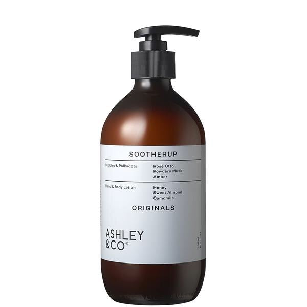 ASHLEY & CO Sootherup Hand & Body Lotion in Bubbles & Polkadots