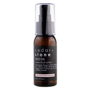 CEDAR + STONE Face Oil with Lemon Myrtle and Rose
