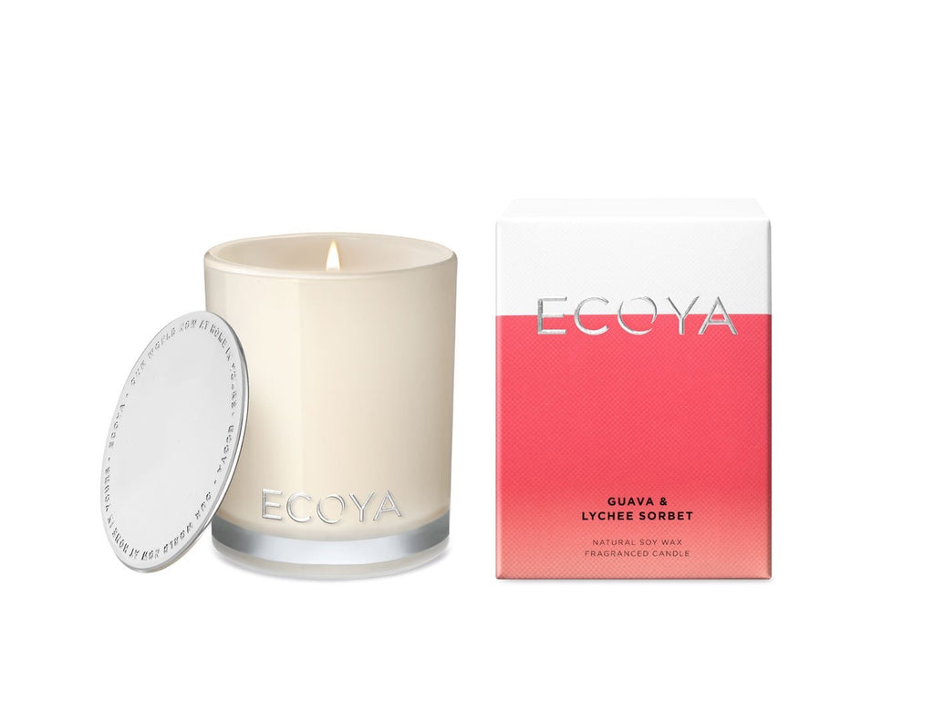 ECOYA Mini Madison Candle in Guava & Lychee