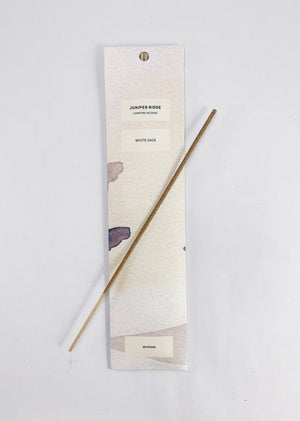 JUNIPER RIDGE Campfire Incense in White Sage
