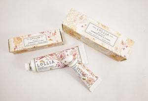 LOLLIA Shea Butter Handcreme in Believe