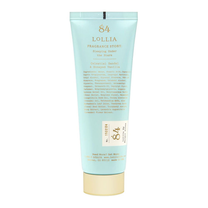 LOLLIA Shea Butter Handcreme in Sleeping Under the Stars