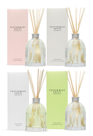 PEPPERMINT GROVE Diffuser in Lemongrass & Lime