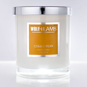 WOLF + LAMB Candle in Comice Pear