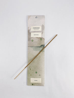 JUNIPER RIDGE Campfire Incense in Sweetgrass