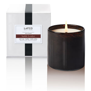 LAFCO Candle in Saddle Leather