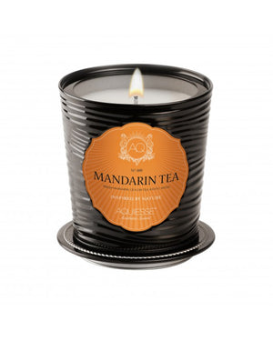 AQUIESSE Fine Tin Candle in Mandarin Tea No. 009