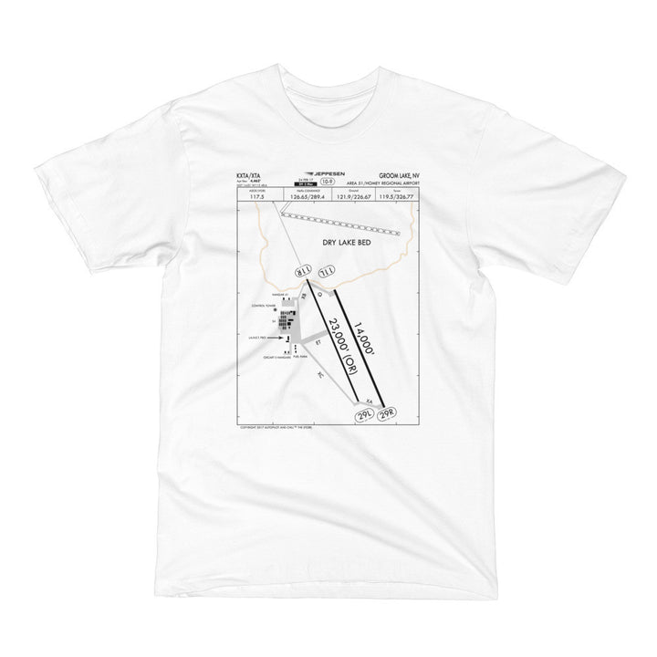 Area 51 Airport Facility Diagram T-Shirt – Autopilot And Chill ...