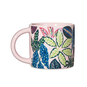 VARIEGATED LEAVES MUG