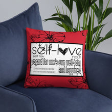 """Self Love"" Pillow"