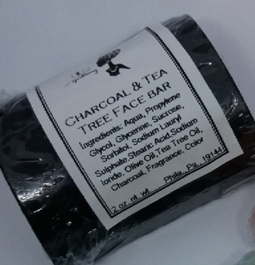 Charcoal & Tea Tree Bar