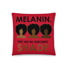 """Melanin"" Pillow"
