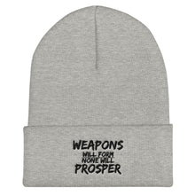 """No Weapon"" Cuffed Beanie"