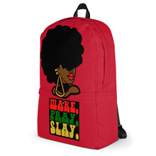 """Wake, Pray, Slay"" Backpack"