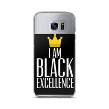 """ Black Excellence"" Samsung Case"