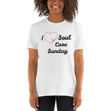 """I love SCS"" Short-Sleeve Unisex Shirt"
