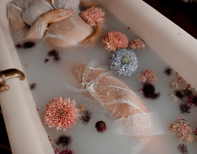 How To Create The Perfect Milk Bath Shoot