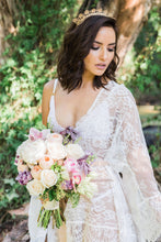 Sheer Lace Bridal Robes