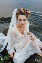 Lace Bridal Robe wedding morning