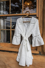 FLORENCE EMBROIDERED ROBE