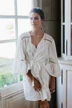 Embroidered Bridal Robe