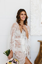 Lace Bridal Robe