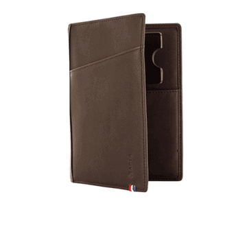 The Nomade Wallet - Dark Brown - Apto