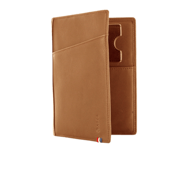 The Nomade Wallet - Camel Brown - Apto