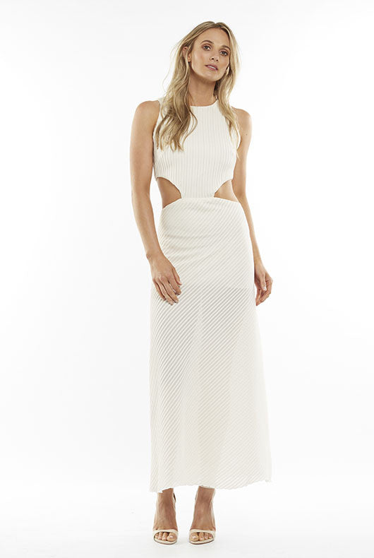 Ribbed Cut Out Maxi