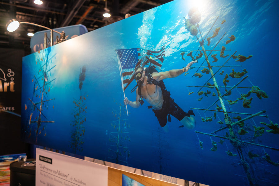 DEMA 2018: Showcasing Underwater Art