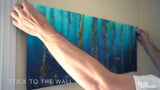 """Kelp Forest Damsels"" 26X70 Peel and Stick Fabric"