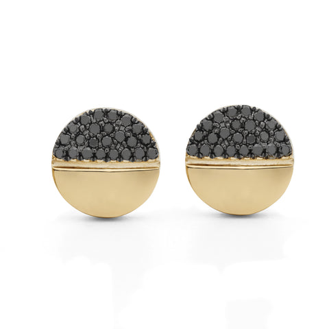 NightShift Black Diamond Earrings
